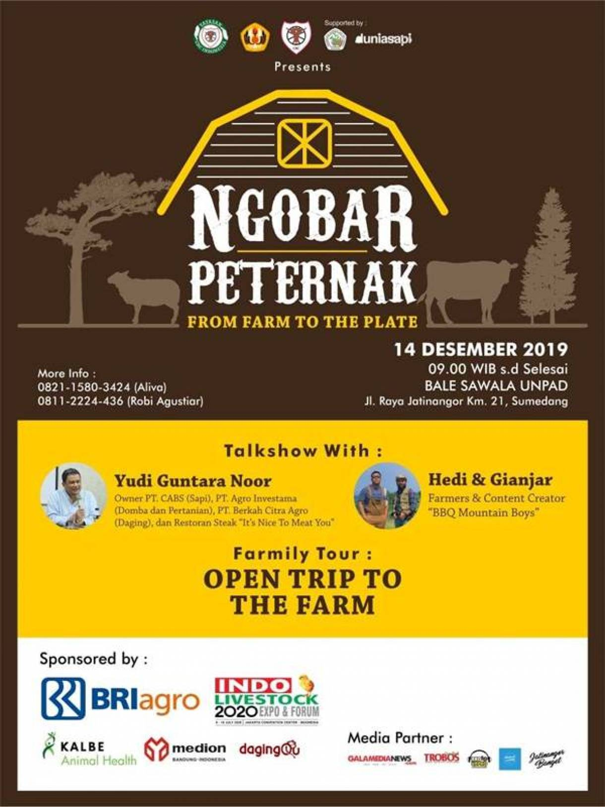 NGOPI BARENG PETERNAK INDONESIA - From Farm To The Plate
