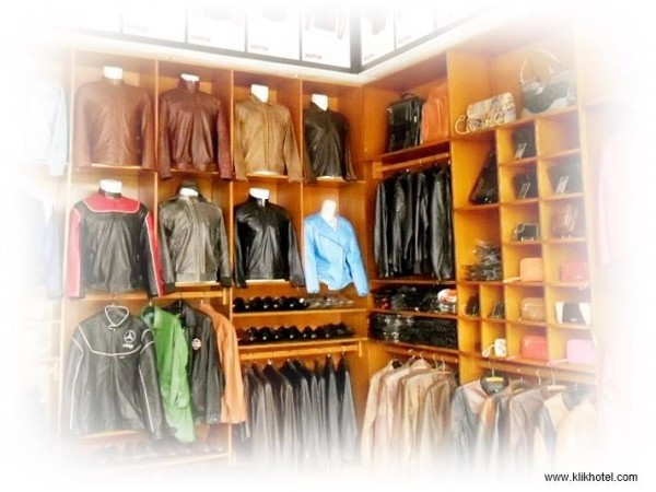 Sukaregang The Center of Leather Products in Garut West Java